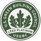 Leed Platinum Certificates Earned Icon